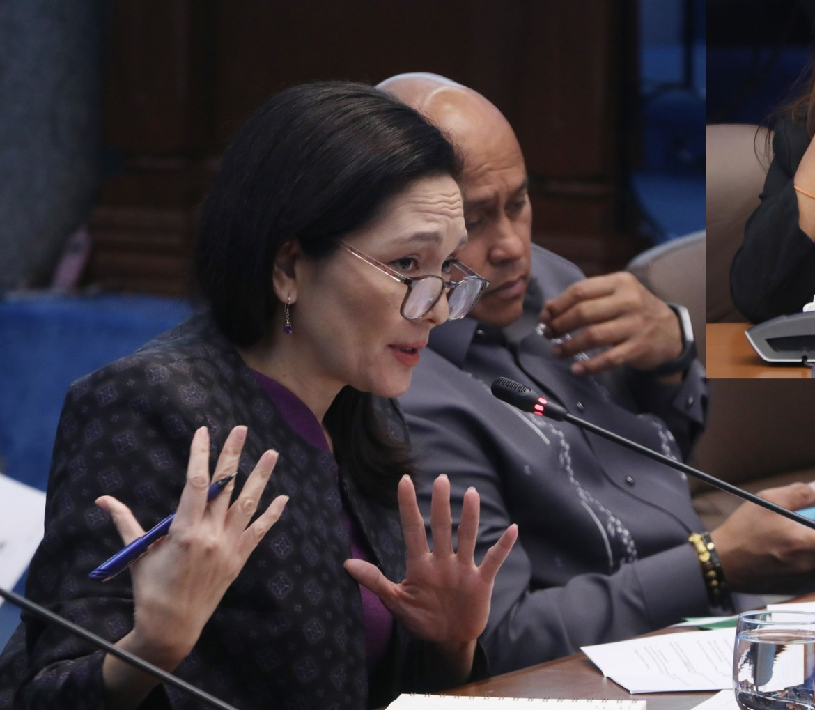 Hontiveros reveals evidence linking BI pastillas scam masterminds to outbound trafficking of Filipino women