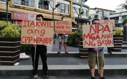 Peace rally vs NPA done simultaneously in Baguio villages