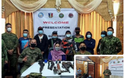 7 BIFF yield to Army in North Cotabato