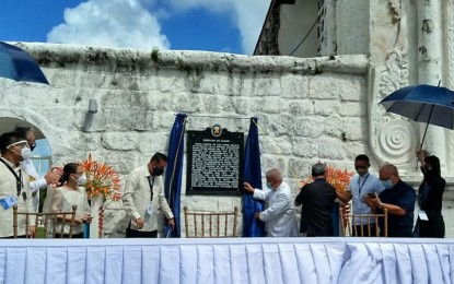 Guiuan Church historical marker unveiled