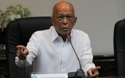 Lorenzana seeks reinstatement of 2 AFP execs in NPA list gaffe