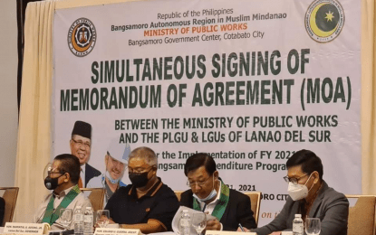 BARMM awards P3.7-B infra-projects for Lanao Sur LGUs