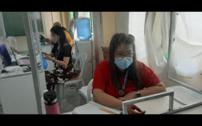 PhilSys sign up continues in Bataan town