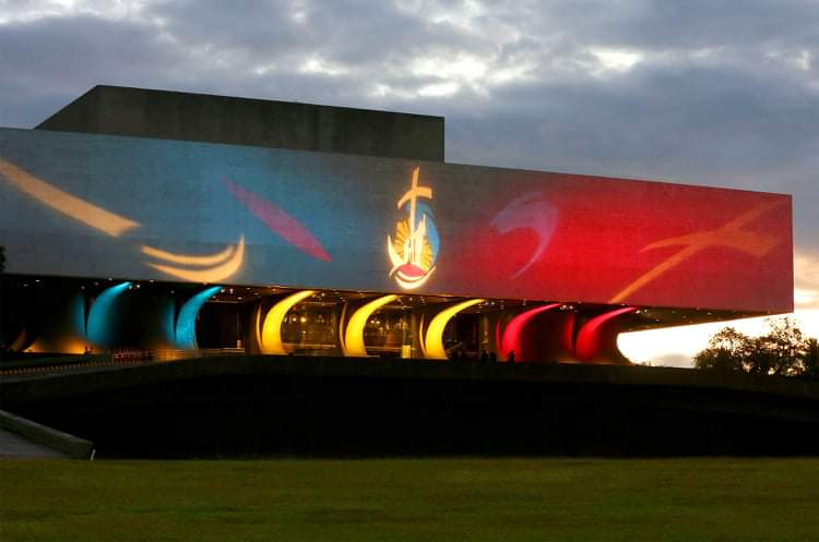"""CCP ablaze with 'Gifted to Give"""" logo celebrating 500 Years of Christianity in PH"""
