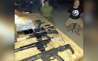 Army officer, soldier nabbed for gun smuggling in Sibugay town