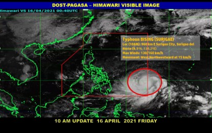 Land, sea travel to Visayas, Mindanao suspended due to 'Bising'
