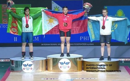 Young Pinay weightlifter wins 2 golds