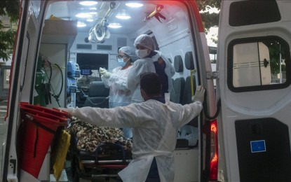 Brazil reports over 3.1K new Covid-19 deaths