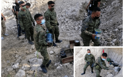 Army destroys 48 recovered NPA IEDs in NoCot