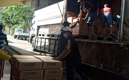 DSWD emergency fund, food boxes on standby for 'Bising' victims