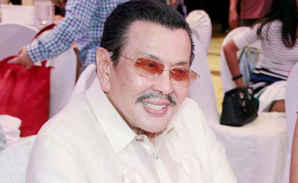 Erap is now on a ventilator as his pneumonia due to COVID-19 worsens