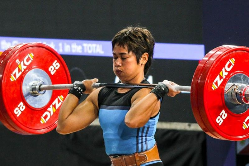 Hidilyn Diaz is 7th Pinoy to qualify for Tokyo Olympics stint