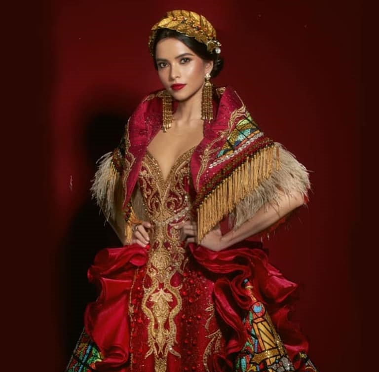 Phils Kelley Day wins Best in National Costume at Miss Eco Int'l 2020
