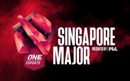 Filipino team finishes 5th in Singapore Major