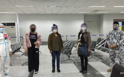 3 human trafficking survivors home from Syria