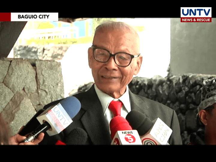 Former Sen. Biazon campaigns for the convening of National Security Council on WPS