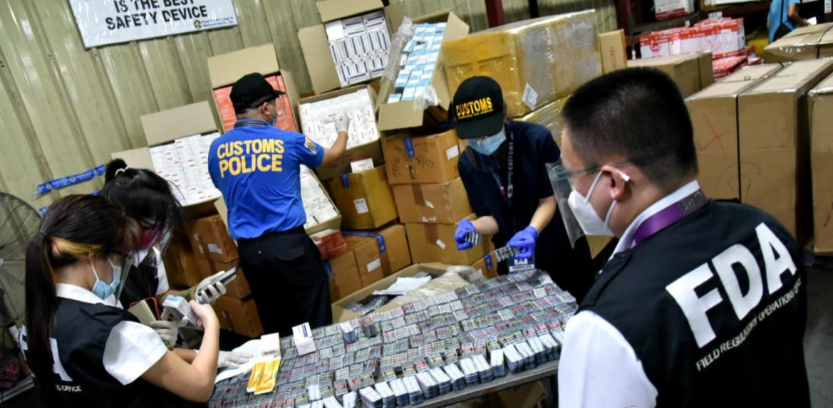 BOC-NAIA intercepts 20K undeclared Ivermectin tablets, other regulated drugs