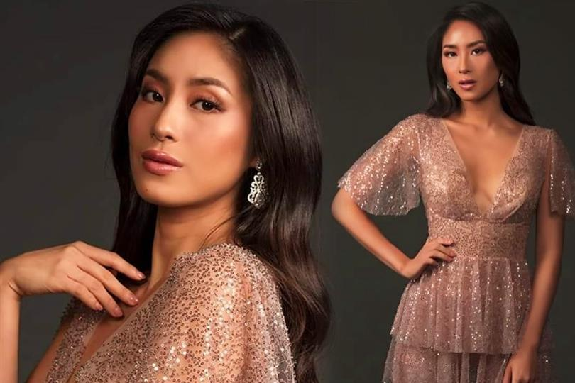 Philippine-born beauty is Singapore's representative in the Miss Universe pageant
