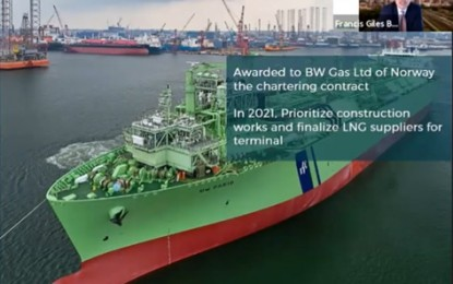 New liquefied natural gas terminal to supplement PH fuel supply