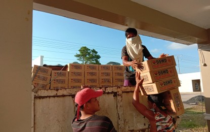 DSWD distributes aid to 16K typhoon-affected families in Samar