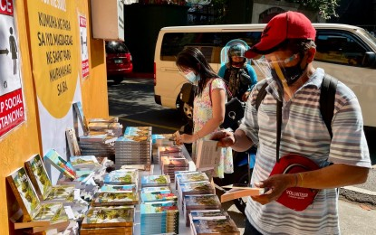 Bibles, religious books also part of community pantries