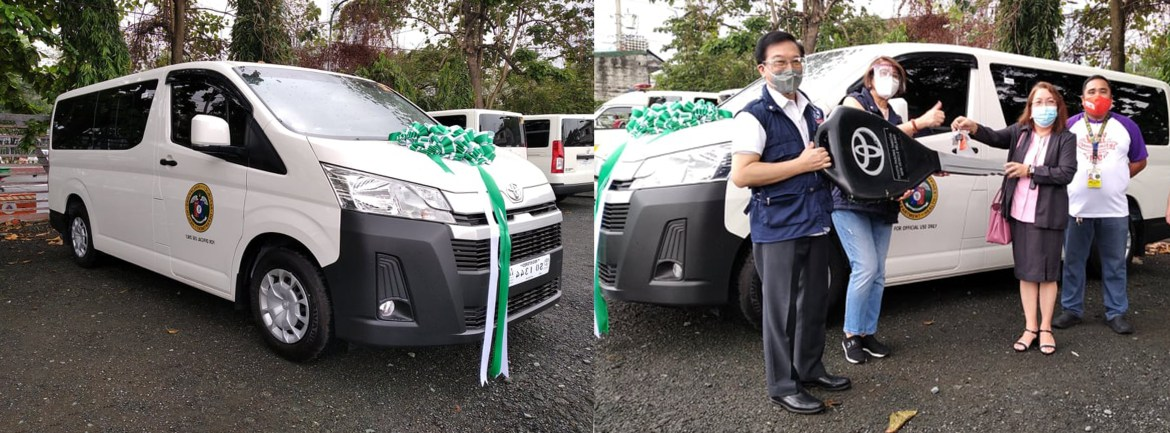 ADB donates commuter vehicle to fast track Covid response efforts in Calabarzon