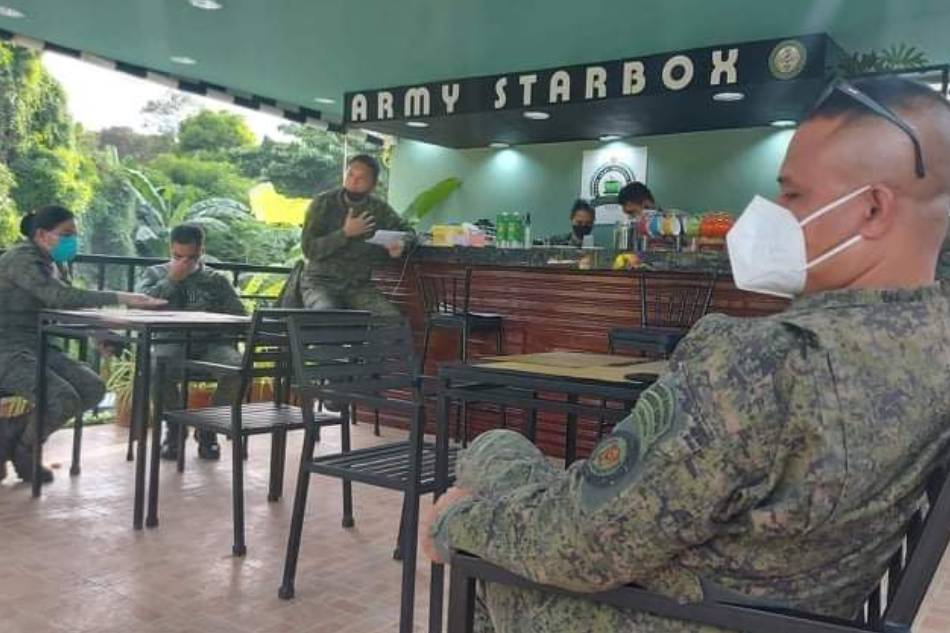 Pandemic-inspired cafe exclusively for Army personnel