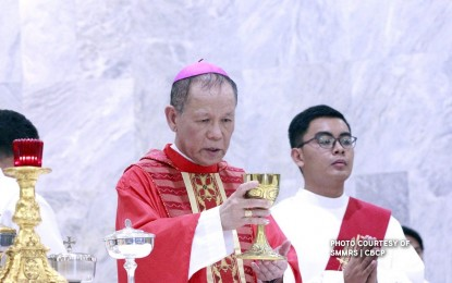 Insignia, red hat rites for Cardinal Advincula reset to June 21