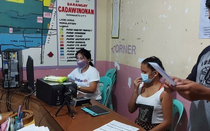 Satellite voters' sign up continues amid Covid surge in Dumaguete