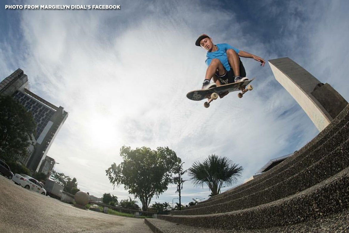 Skateboarder Margielyn Didal becomes 10th PH bet for Tokyo 2020 Olympics