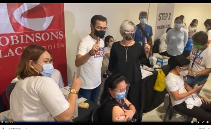 Manila readies mall vax sites for A4 group vaccination