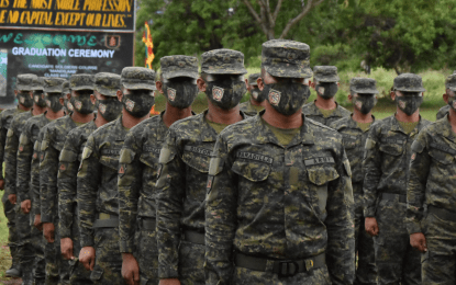 Serve Filipinos with passion, selflessness, new soldiers urged