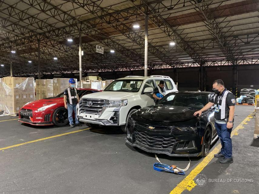 BOC-MICP foils another smuggling try of 3 luxury vehicles worth P16M