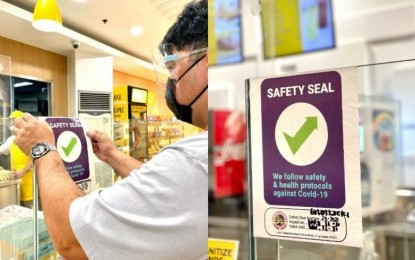 CDO launches 'safety seal' program as anti-Covid-19 measure