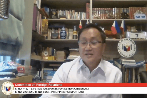 Tolentino wants DFA to prevent the confiscation of OFW passports