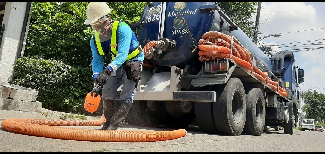 Free Desludging Services to Maynilad Customers