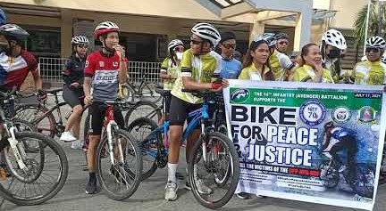 DILG lauds organizers for Nationwide Bike for Peace and Justice success