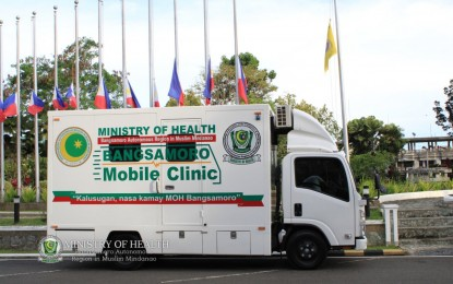 Lanao del Sur rolls out modern mobile clinic