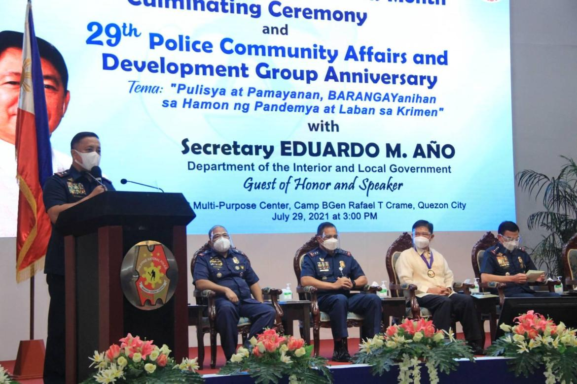 DILG Assec Felix graces culminating ceremony of the 26th Police Community Relations Month, 29th PCADG anniv