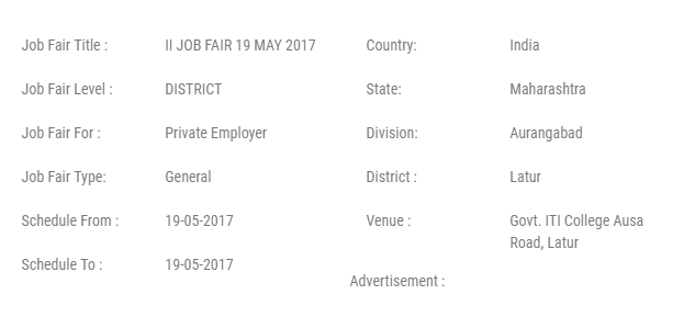 Latur Job Fairs 2017