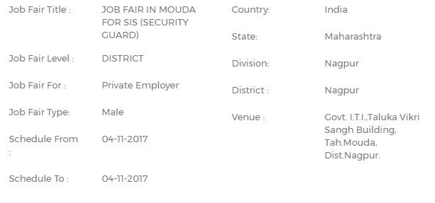 Nagpur Job Fairs 2018