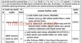 Kinwat Nagarparishad Nanded Recruitment 2028 Civil Engineer Mis