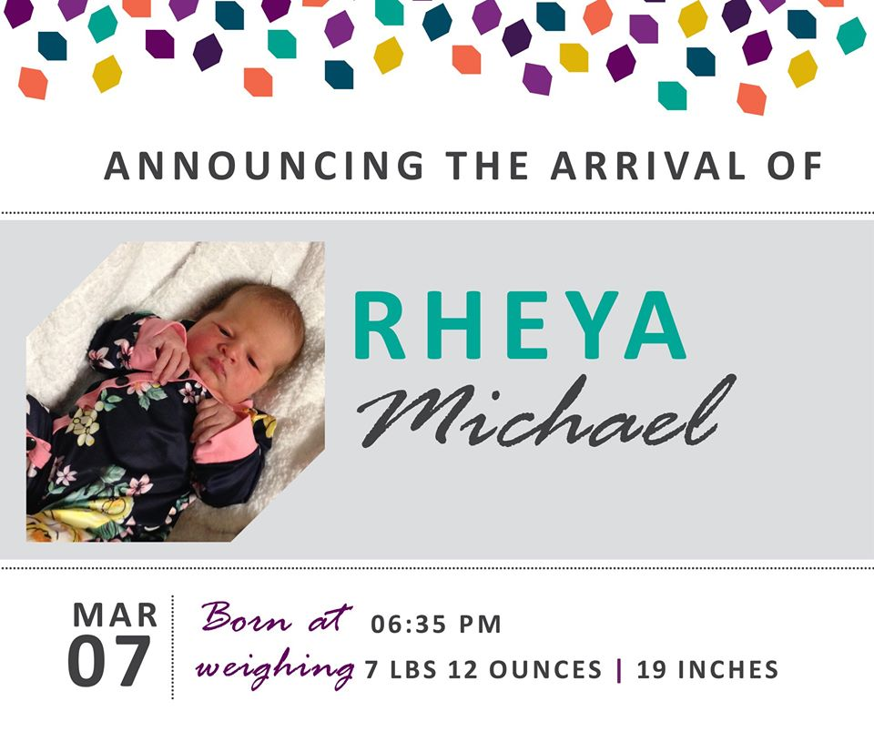 Rheya Michael 2