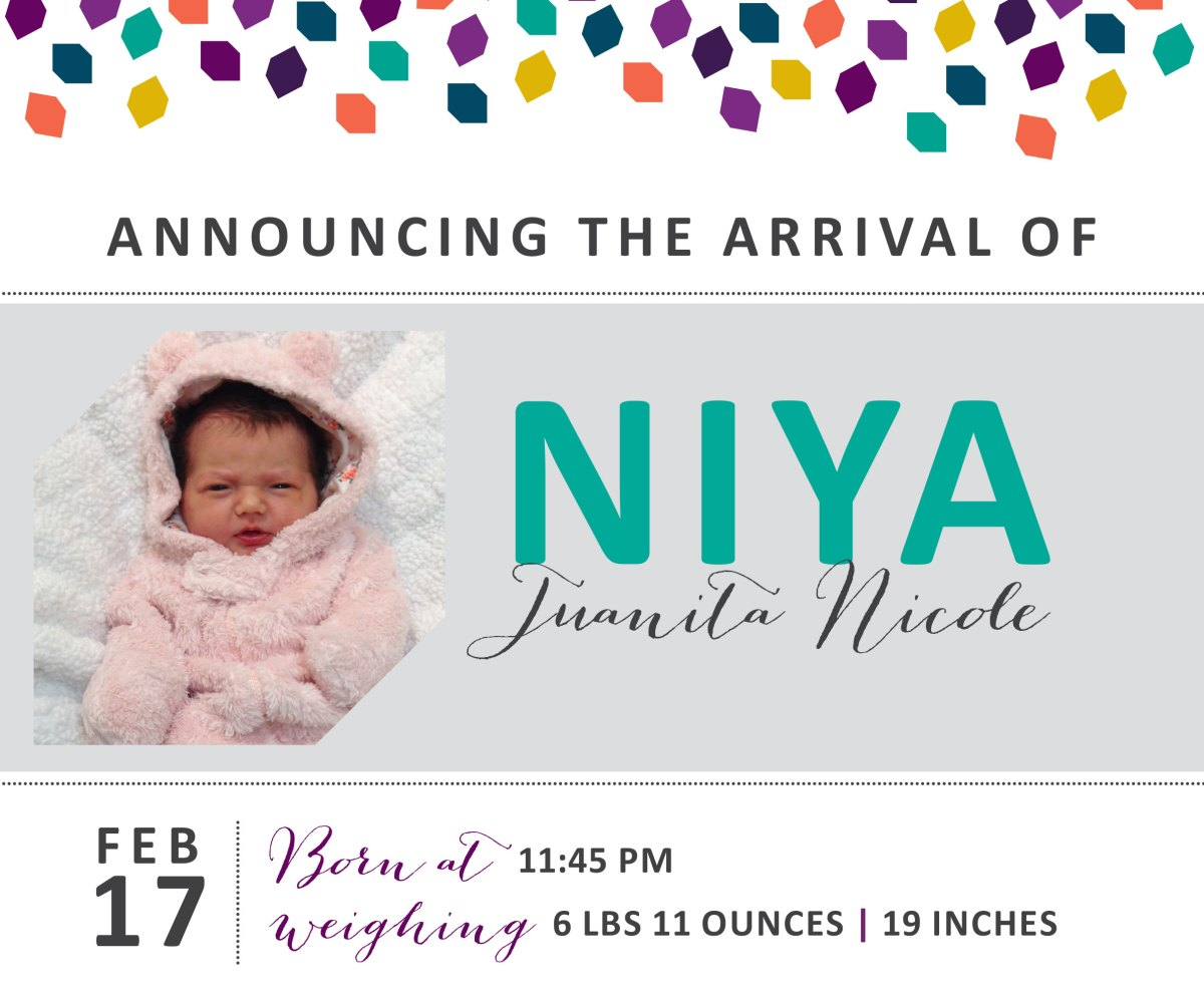Niya Juanita Nicole 4