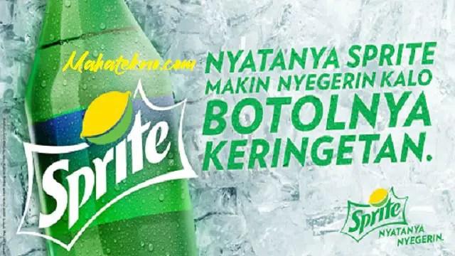 contoh iklan minuman sprite