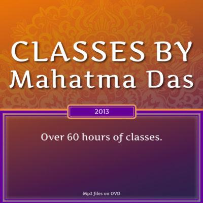 Mahatma Das Classes 2013