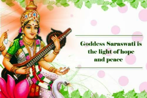 Goddess Saraswati is the light of hope and peace. Happy Vasant Panchami and Saraswati Puja. May all your wishes get fulfilled.
