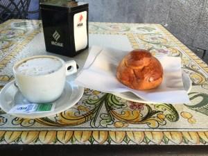 カターニアの朝飯