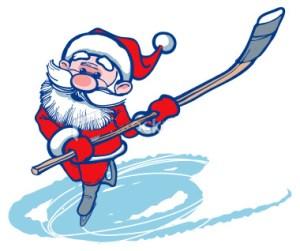 ist2_2172968-santa-claus-hockey-player