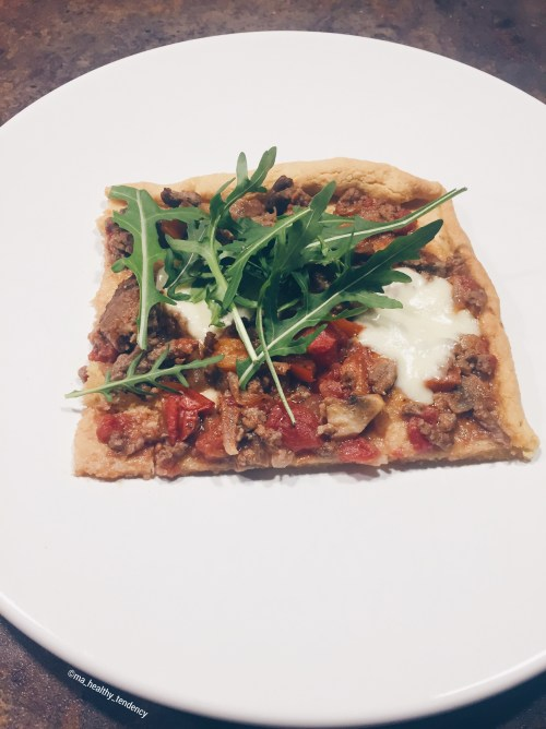 Pizza sans gluten et sans lactose - Ma Healthy Tendency